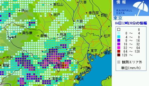 なんちゅう天気!!