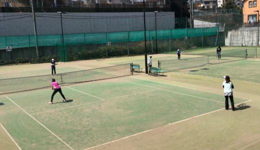 八王子テニススクール・レッスンです
