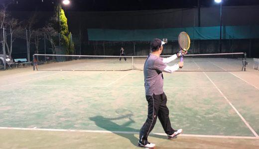八王子テニススクール練習会
