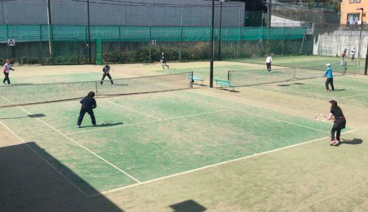 八王子テニススクールレッスン・・・
